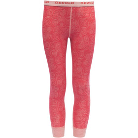 Devold Duo Active Caleçon Long Enfant, poppy